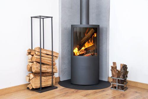 wood burning stove liss